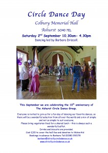 Circle Dance Party Sep. Ashurst